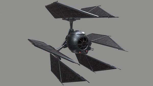tie defender 3D model