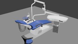 3D dental unit model