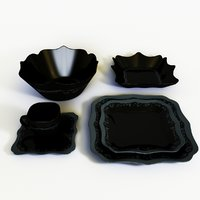 luminarc tableware set 3D model