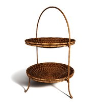 rattan fruit basket 3D