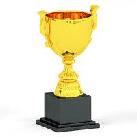 3D model trophy cup