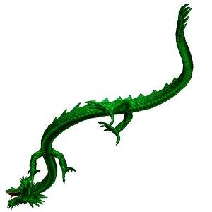 chinese dragon model
