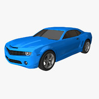 3D camaro car