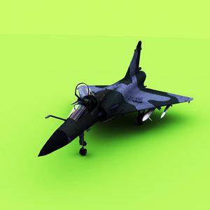 dassault mirage 2000 3D model