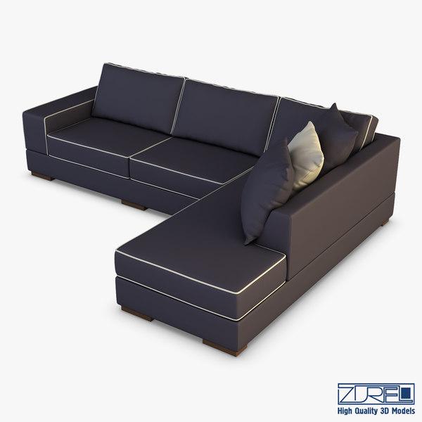sofa zurel 3D model