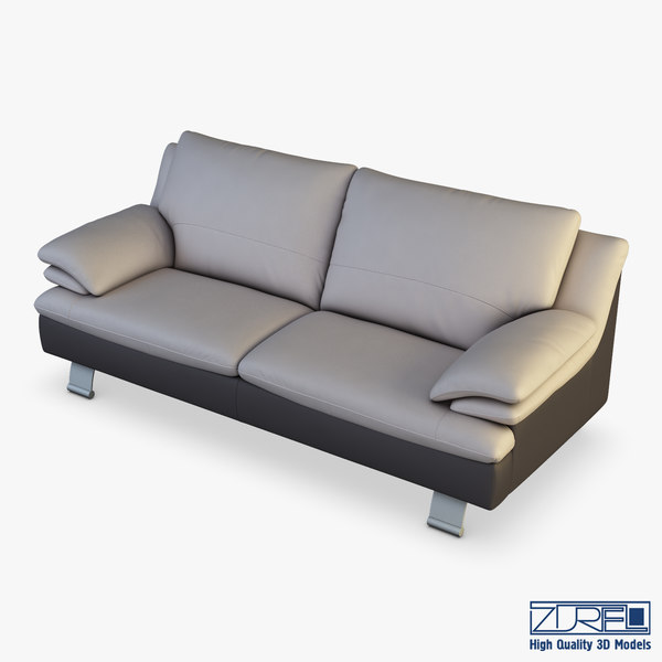 z742 sofa v 1 3D model