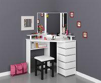 corner dressing table 3D