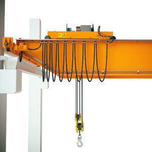 3D gantry crane model
