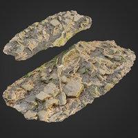 3D ground stones f model