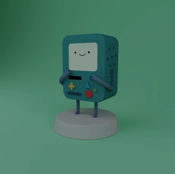 bmo adventure time model