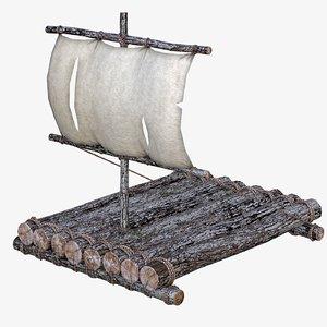 life raft 3D model