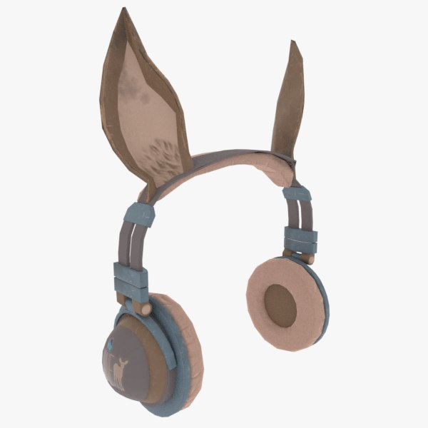 3D ear headphone