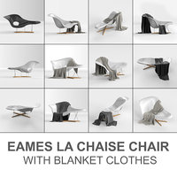 vitra eames chair: la chaise model
