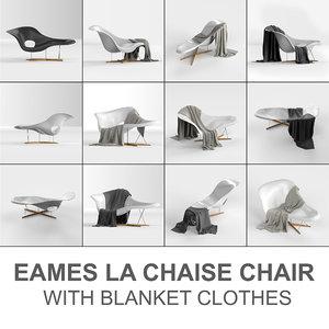 vitra eames chair: la chaise model
