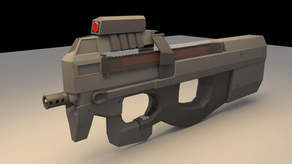 p90 3D