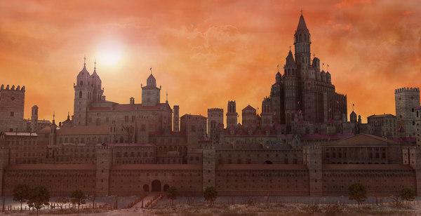 3D city fantasy