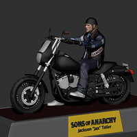 3D sons anarchy soa - model