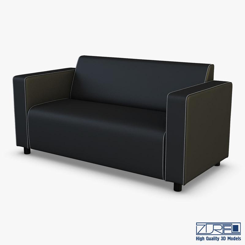 alpha sofa v 1 3D model