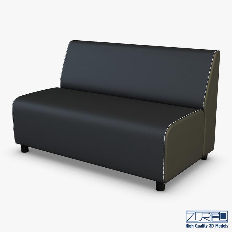 alpha sofa v 2 3D model