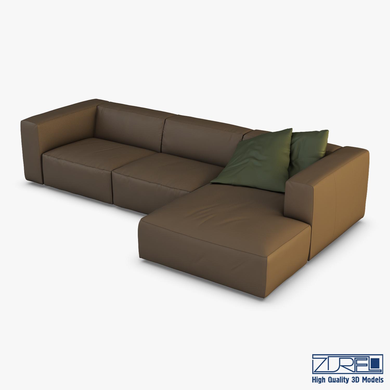 Vogue Sofa Turbosquid 1315654