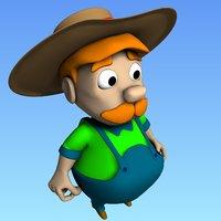 farmer character model