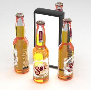 beer cerveza 3D model
