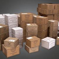 Food Shipment 01 (KTC) - PBR Game Ready