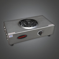 Hot Plate 02 (KTC) - PBR Game Ready
