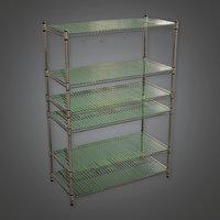 Shelf 01 (KTC) - PBR Game Ready