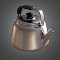 Teapot 01 (KTC) - PBR Game Ready
