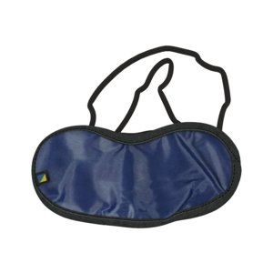 3D travel blue eye mask model