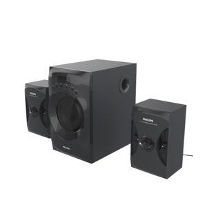 3D model philips mms4040f pc speaker