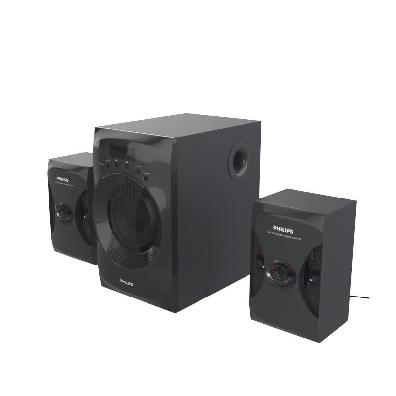 3D model philips mms4040f pc speaker