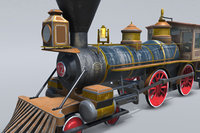 3D s steam train