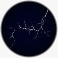 3D model realistic lightning