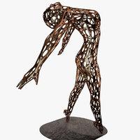 3D sculpture woman 1