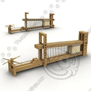lever press 3D