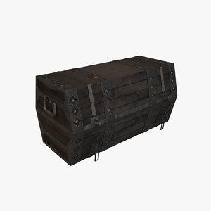 chest modelling 3D model