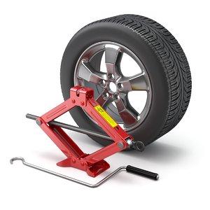 car jack scissor model