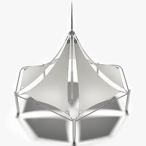 membrane tensile 3D