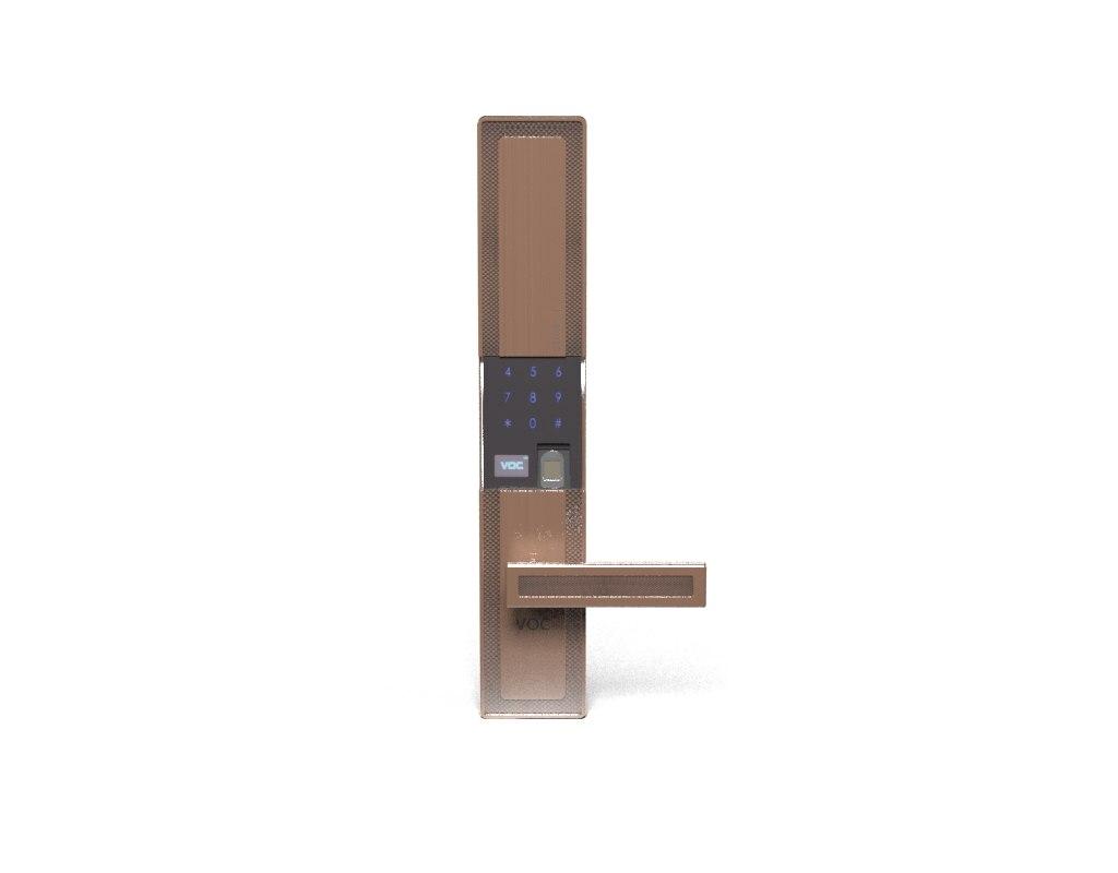 smart locks 3D model
