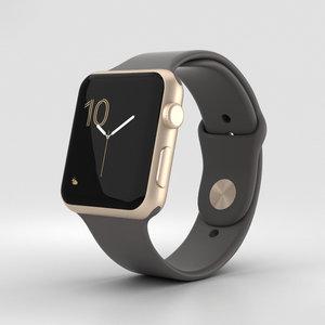 apple watch sport 3D