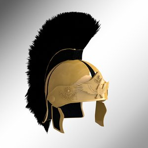 roman helmet 3D