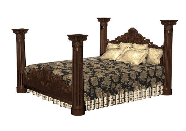 3D classical bed
