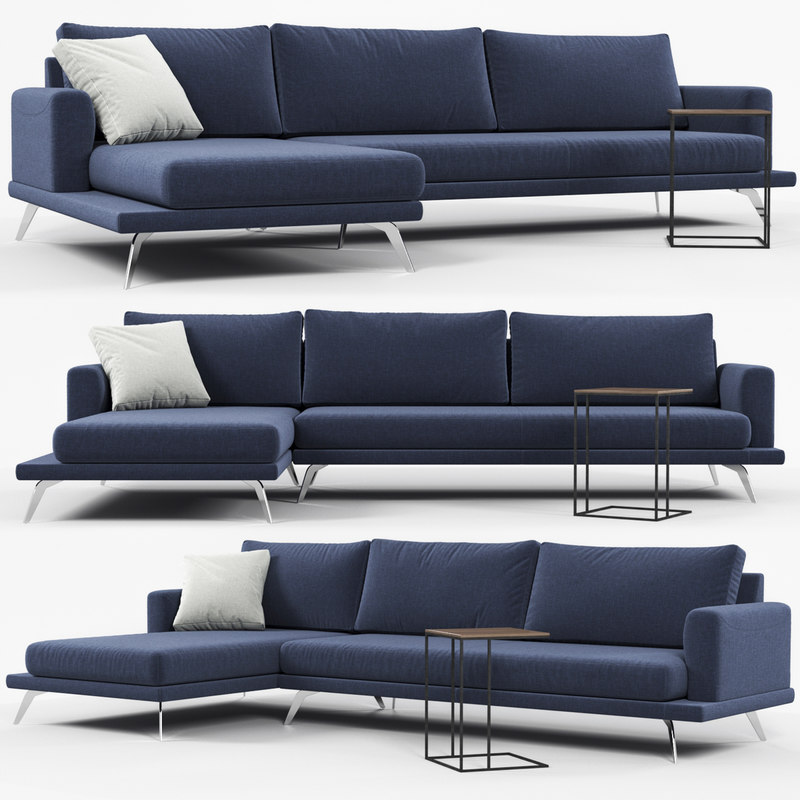 3D model doimo salotti philip sofa