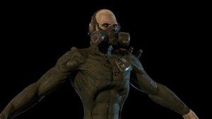 character mutant model