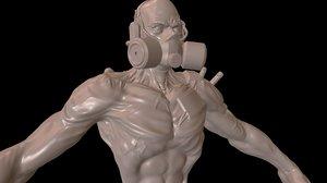3D mutant1 zbrush project