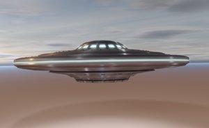 vintage ufo 3D model