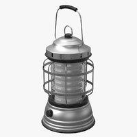 3D lantern camp