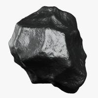 3D iron meteorite